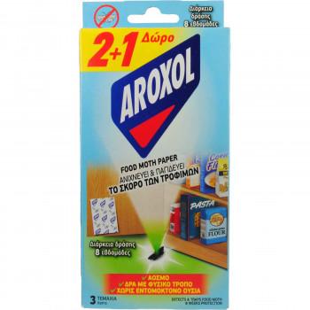 AROXOL FOOD MOTH PAPER 3 TEM. 2+1 ΔΩΡΟ