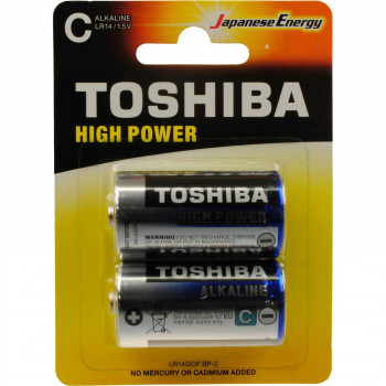 TOSHIBA ΜΠΑΤΑΡΙΕΣ HIGH POWER C 2 ΤΕΜ.