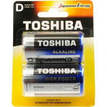 TOSHIBA ΜΠΑΤΑΡΙΕΣ HIGH POWER D 2 ΤΕΜ.