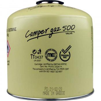 CAMPER GAS ΦΙΑΛΙΔΙΟ ΥΓΡΑΕΡΙΟΥ ΜΕ ΒΑΛΒΙΔΑ 500 ΓΡ.