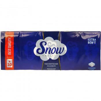 SNOW ΧΑΡΤΟΜΑΝΔΗΛΑ EXTRA SOFT 10 ΤΕΜ.