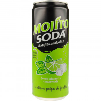 MOJITO SODA NO ALKOHOL 330 ML.