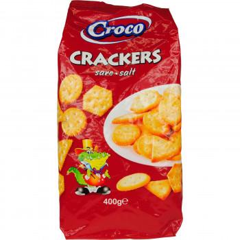 CROCO CRACKERS ΜΕ ΑΛΑΤΙ 400 ΓΡ.