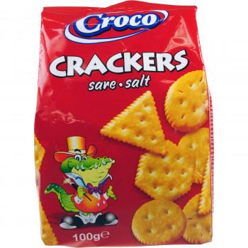 CROCO CRACKERS ΑΛΜΥΡΑ 100 ΓΡ.
