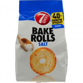 7 DAYS BAKE ROLLS SALT 112 ΓΡ.