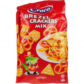CROCO CRACKERS BREZEL MIX 250 ΓΡ.