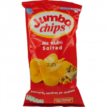 JUMBO CHIPS ΜΕ ΑΛΑΤΙ 50 ΓΡ.