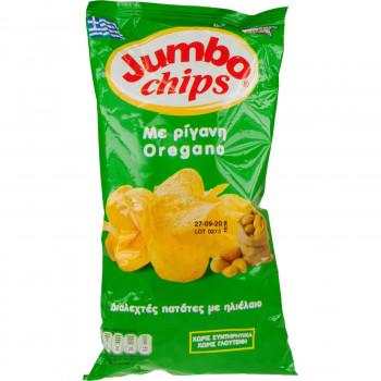 JUMBO CHIPS ΜΕ ΡΙΓΑΝΗ 50 ΓΡ.