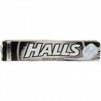 HALLS ΚΑΡΑΜΕΛΕΣ EXTRA STRONG 33,5 ΓΡ.