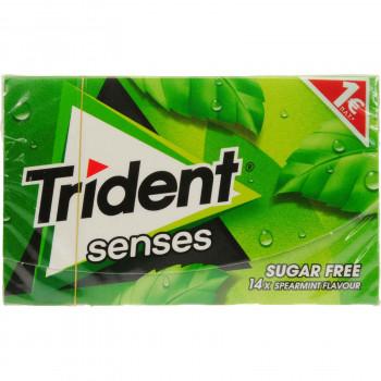 TRIDENT SENSES SPEARMINT 27 ΓΡ. 1.00€