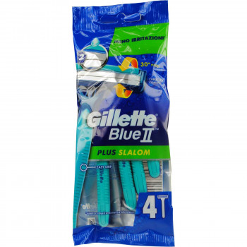 GILLETTE BLUE II PLUS SLALOM 4 ΤΕΜ.
