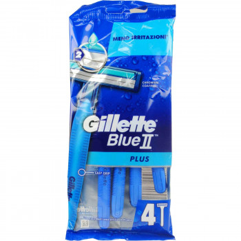 GILLETTE BLUE II PLUS 4 ΤΕΜ.