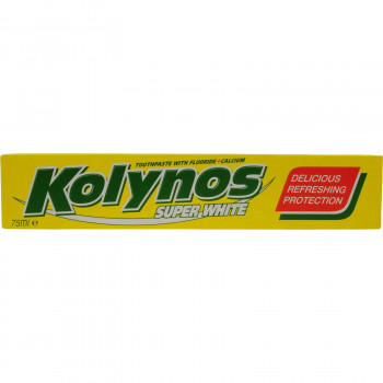 KOLYNOS ΟΔΟΝΤΟΚΡΕΜΑ SUPER WHITE 75 ML.
