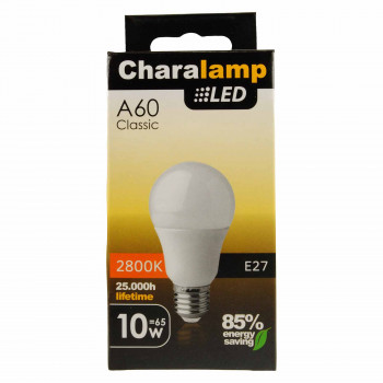 CHARALAMP LED E27 WARM 10W/65W