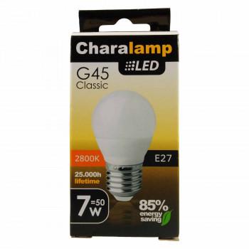 CHARALAMP LED E27 ΣΦΑΙΡΙΚΗ WARM 7W/50W