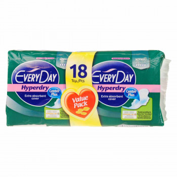 EVERY DAY HYPERDRY ULTRA PLUS NORMAL 18 ΤΕΜ.