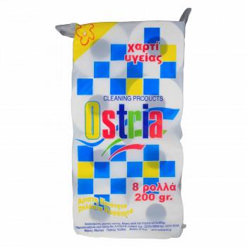 OSTRIA ΧΑΡΤΙ ΥΓΕΙΑΣ 200 ΓΡ. Χ 8 ΤΕΜ.